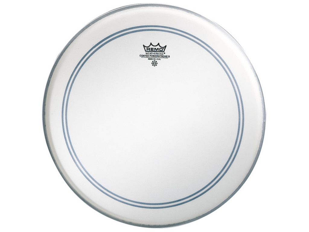 Tom / Snaredrum Vel Remo P3-0113-BP, Powerstroke 3 Coated, 1-ply 13""