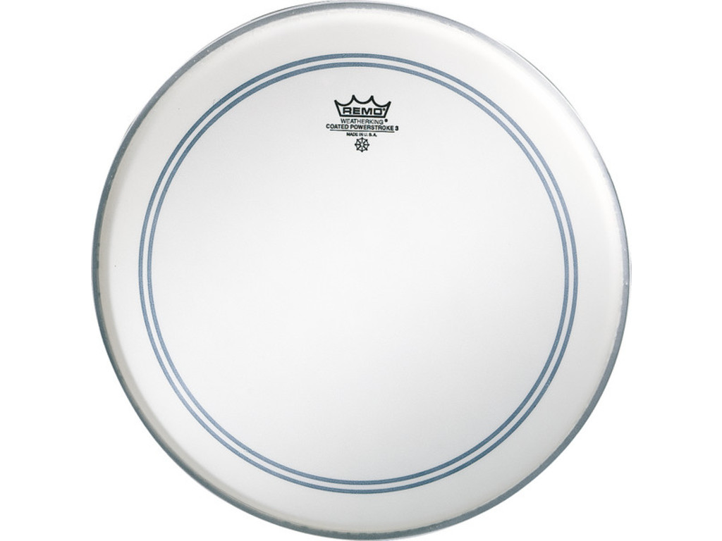 Tom / Snare Drum Head Remo P3-0114-BP, Powerstroke 3 Coated, 1-ply 14""