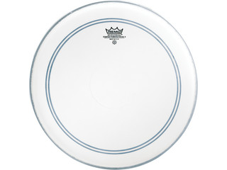 Snaredrum Vel Remo P3-0113-C2, Powerstroke 3 Coated, met clear top dot, 1-ply 13