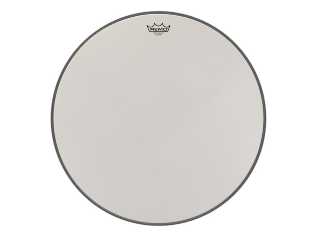 Bassdrum Vel Remo P3-1822-00, Powerstroke 3 Suede, 1-ply 22""