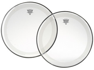 Tom / Snaredrum Vel Remo P4-0310-BP, Powerstroke 4 Clear, 2-ply 10""