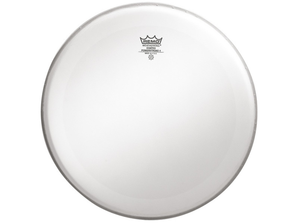 Tom / Snaredrum Vel Remo P4-0112-BP, Powerstroke 4 Coated, 2-ply 12""
