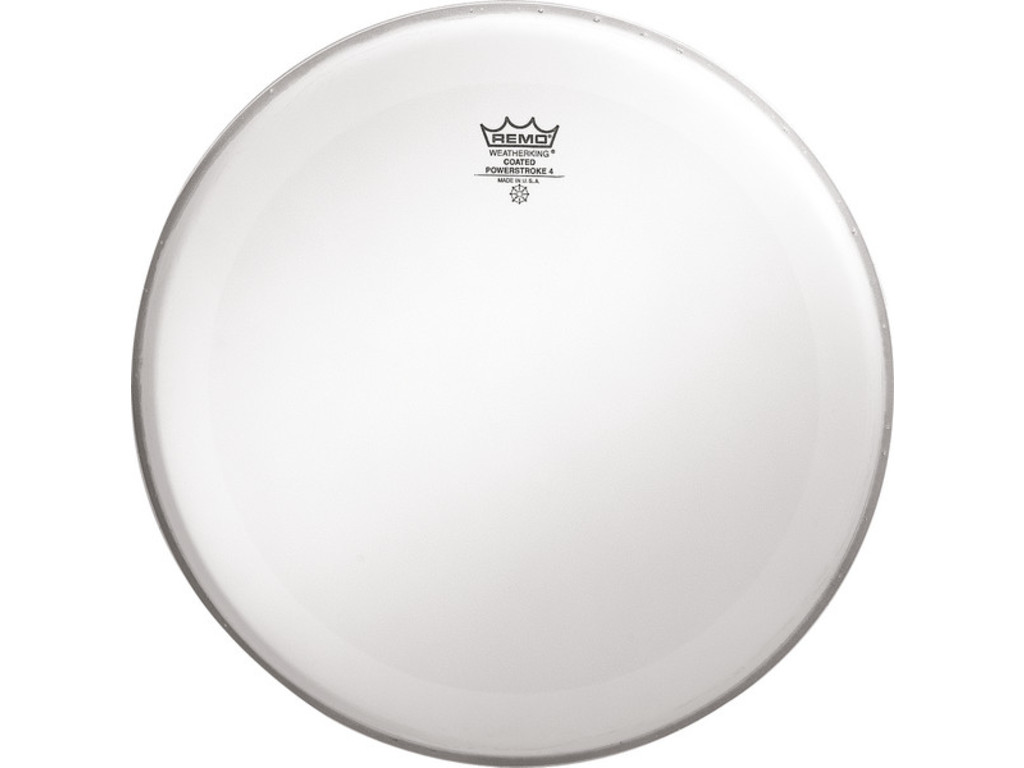 Tom / Snaredrum Vel Remo P4-0114-BP, Powerstroke 4 Coated, 2-ply 14""