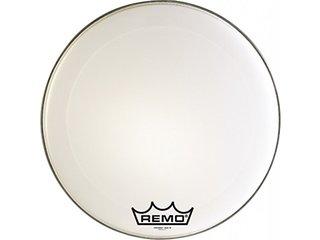 """Remo 14/"""" Crimplock Emperor White Suede Marching Tenor Drum Head"""