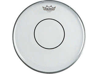 "Snaredrum Vel Remo P7-0315-C2, Powerstroke Marching Clear, 2-ply 15"", met clear dot"