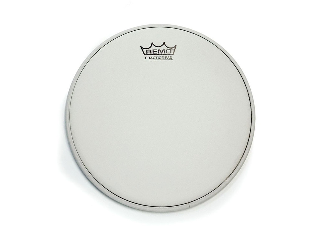 Practice pad Fell Remo PH-0110-00, coated, 10""