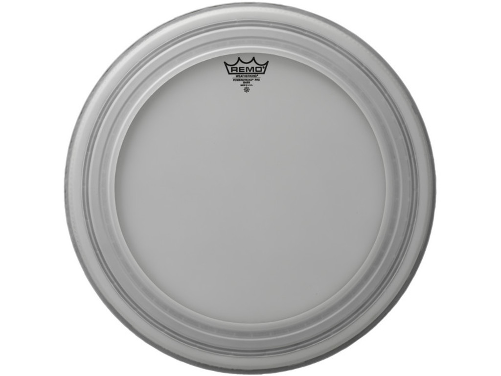 Bass Drum Head Remo PR-1122-00, Powerstroke Pro Coated, 1-ply 22""