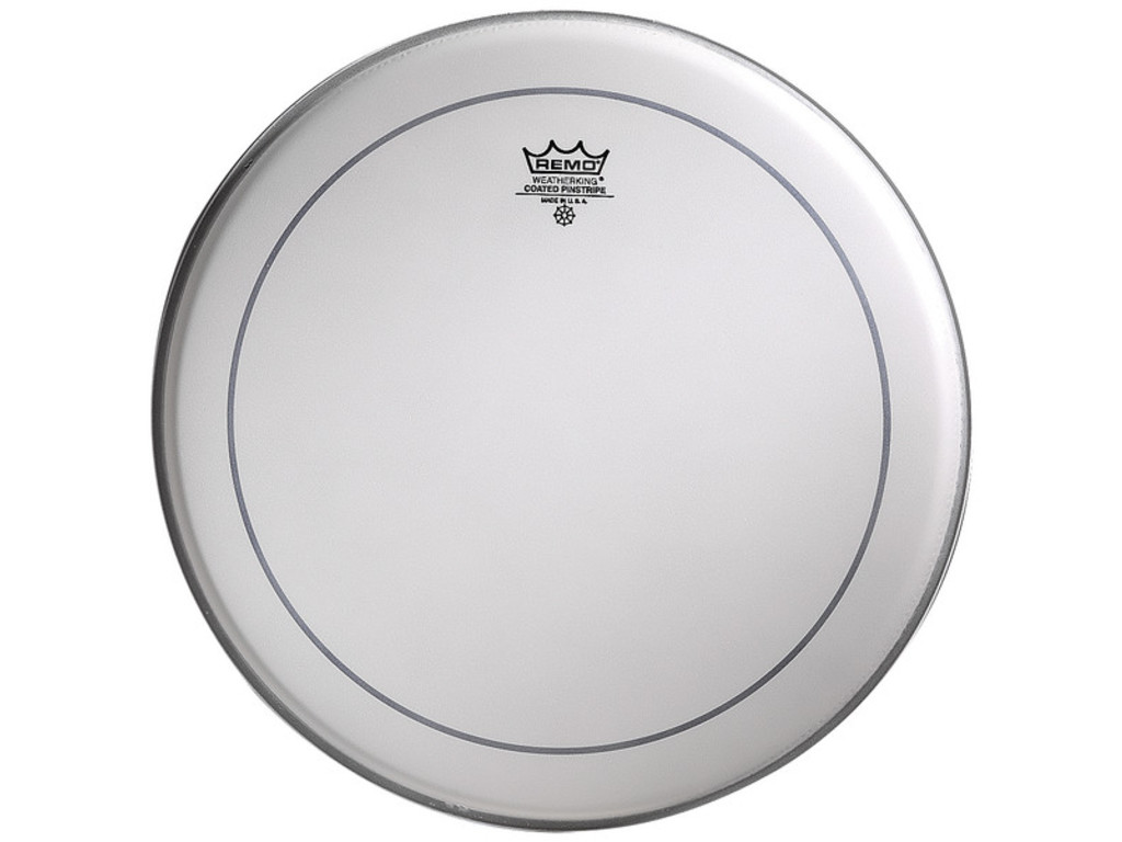 Tom / Snaredrum Vel Remo PS-0112-00, Pinstripe Coated, 2-ply 12""