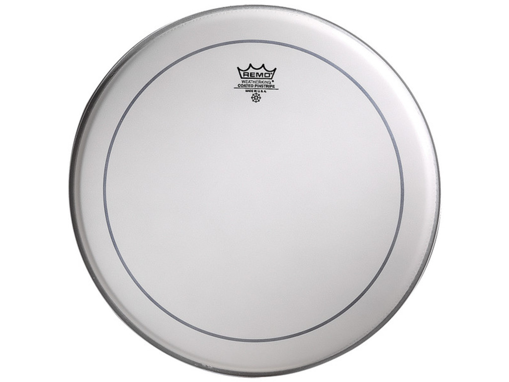 Tom / Snare Drum Head Remo PS-0114-00, Pinstripe Coated, 2-ply 14""