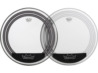 Bassdrum Vel Remo PW-1318-00, Powersonic, clear, 2-ply 18""