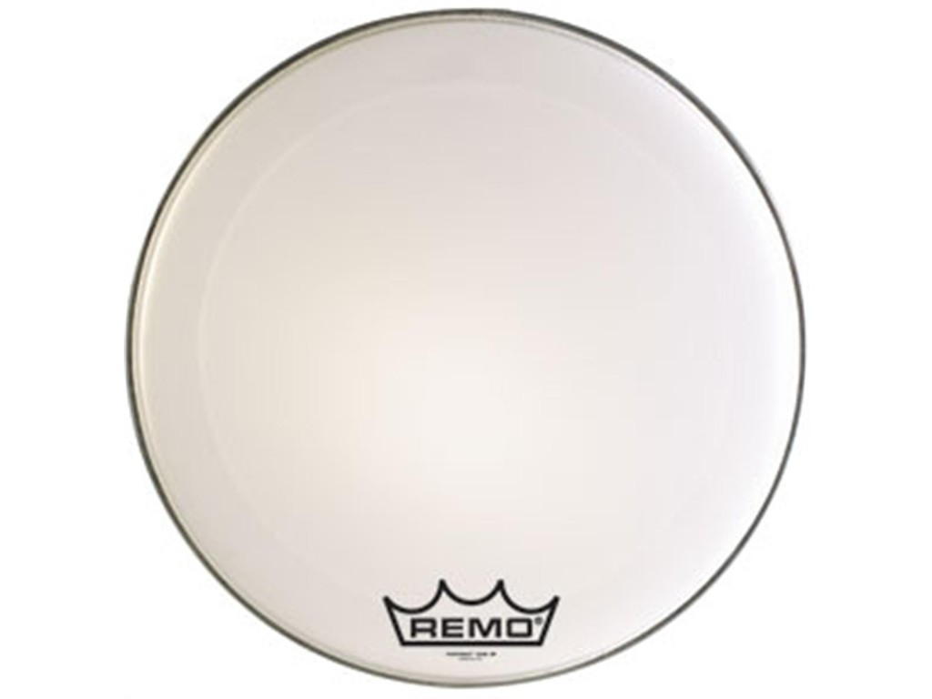 Bassdrum Vel Remo PM-1020-MP, Powermax, Ultra White, Marching 20""