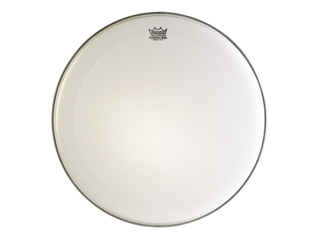 Bassdrum Vel Remo PM-1022-MP, Powermax, Ultra White, Marching 22""