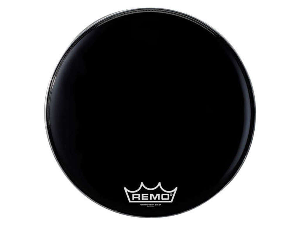 Bassdrum Vel Remo PM-1826-MP, Powermax Black Suede, 1-ply 26""