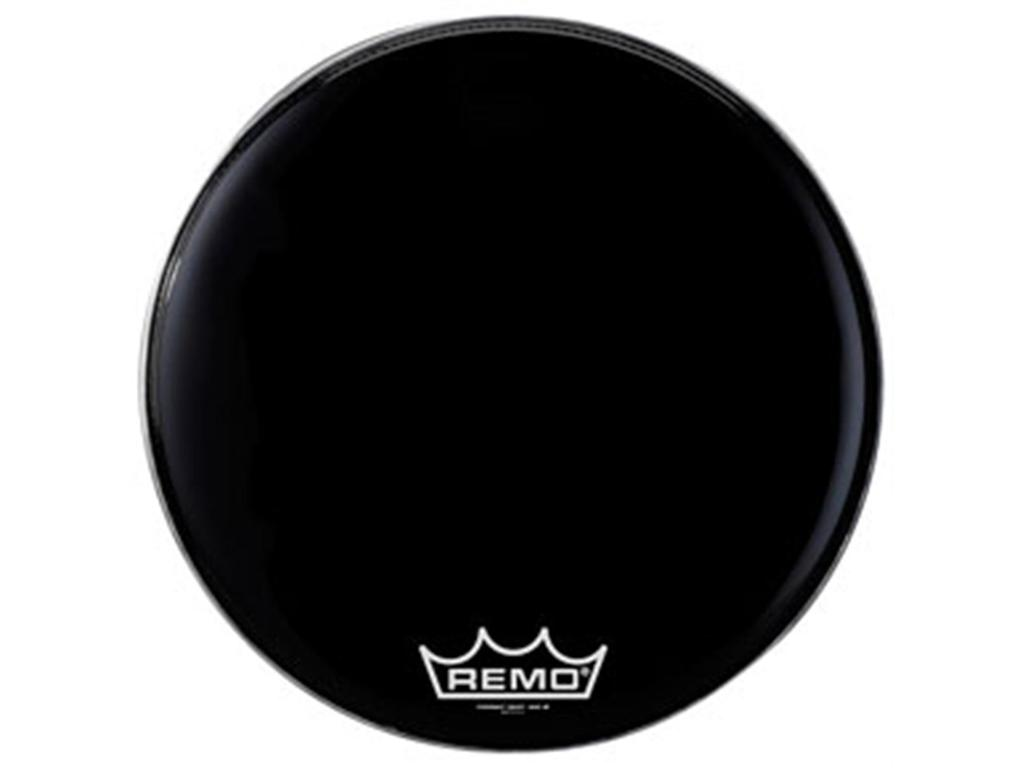 Bassdrum Vel Remo PM1428-MP, Powermax, Ebony, 1-ply 28""