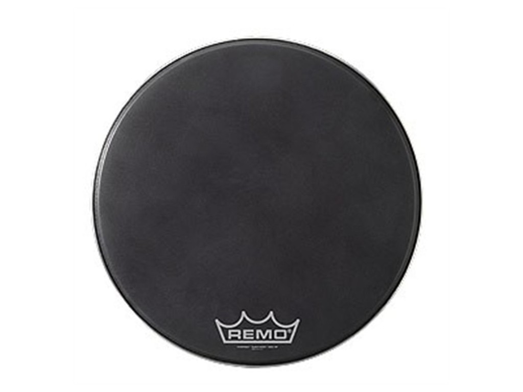 Bassdrum Vel Remo PM-1820-MP, Powermax, Black Suede, 1-ply 20""