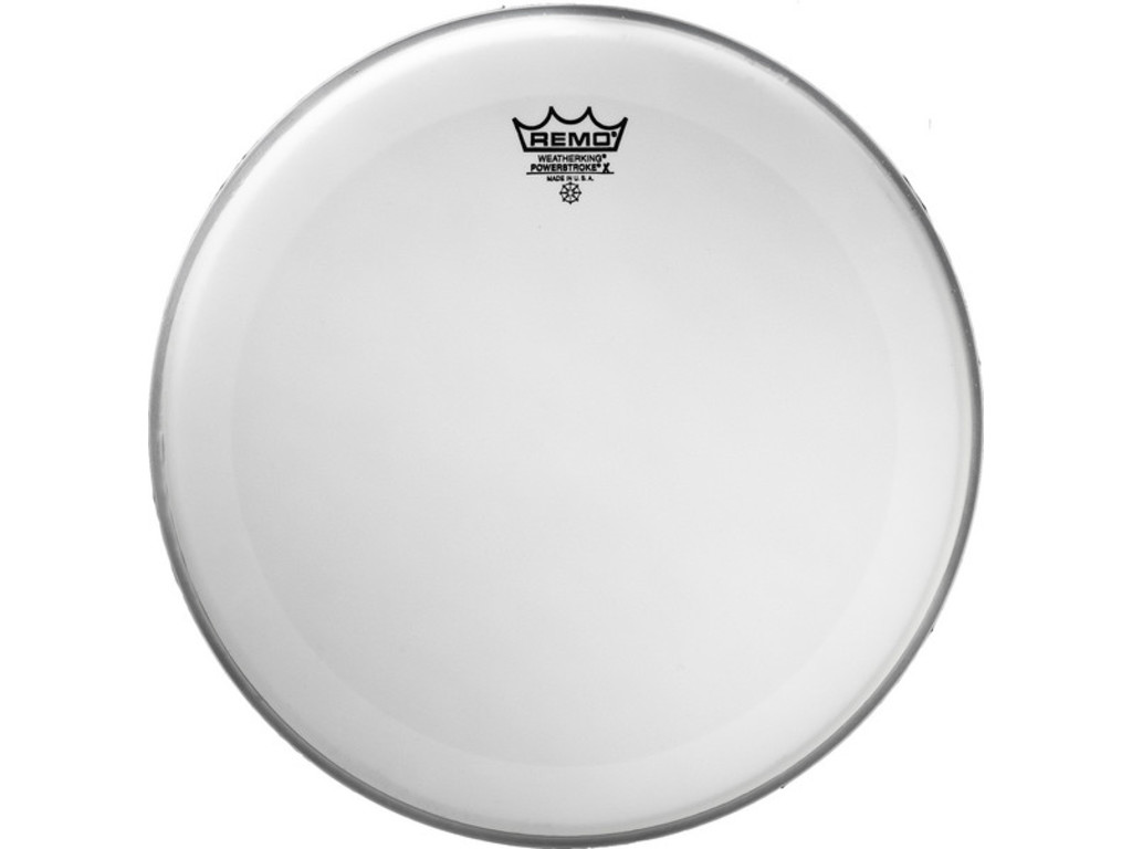 Tom / Snaredrum Vel Remo PX-0114-BP, Powerstroke 3 X Coated, 1-ply 14""