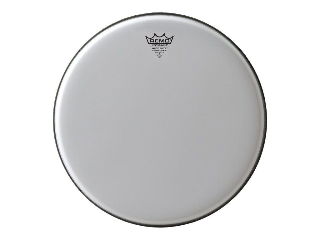 "Tom Vel Remo BA-0818-WS, Ambassador Suede White, 1-ply 18"", wit"