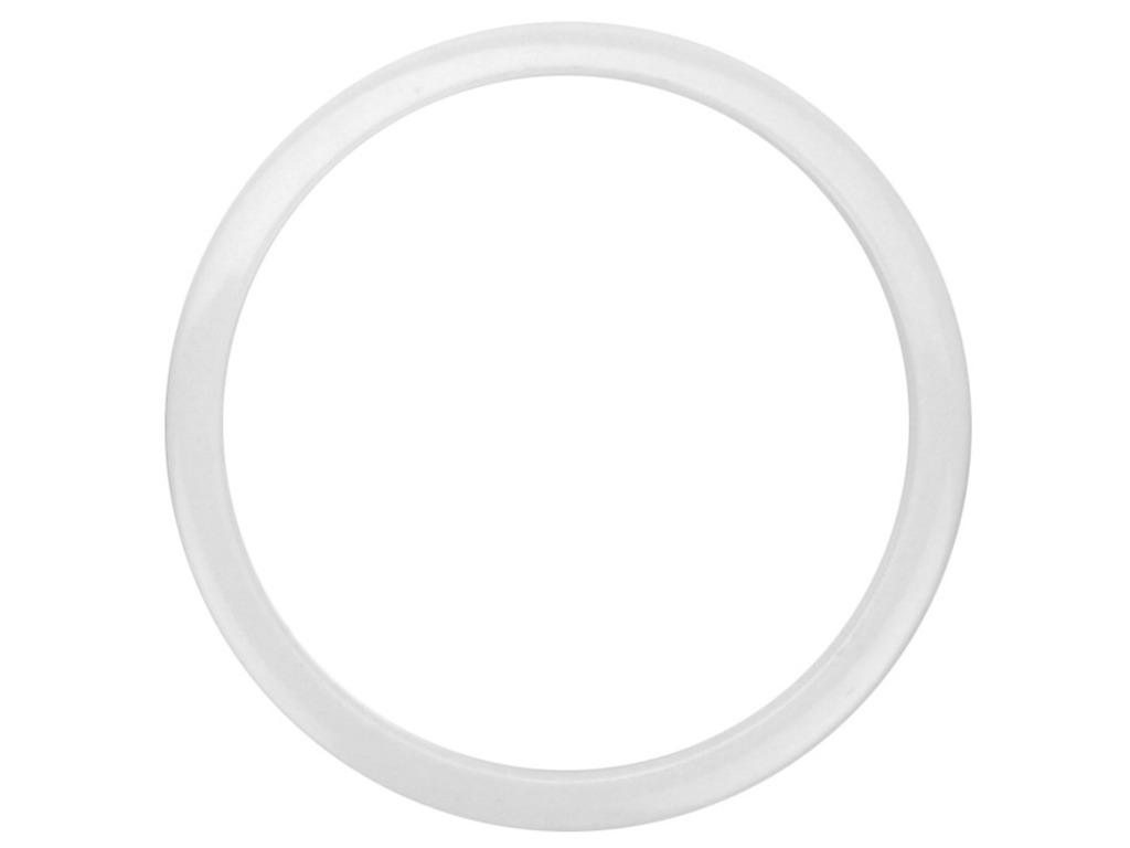 "Bass Drum Port HOLZ 4WHITE, 4"" white, For hole in Bass Drum Head"