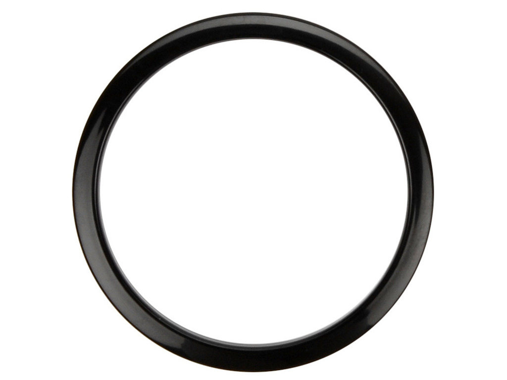 "Bass Drum Port HOLZ 6BLACK, 6"" Black, For hole in Bass Drum Head"