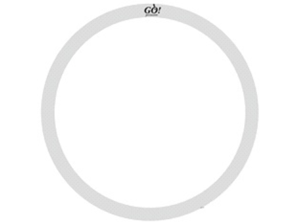 "Dempring Go Percussion GO-OR/10, O-ring 10"" clear"