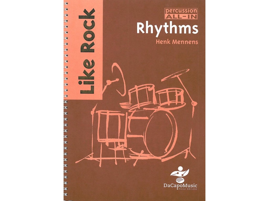 Sheet Music Percussion All In, Rhythms Like Rock