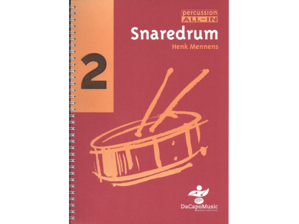 Bladmuziek Percussion All In, Snaredrum 2