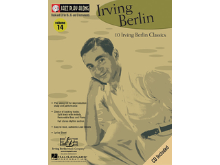 Bladmuziek Jazz Play Along Volume 14 Irving Berlin voor Bb instrumenten (Boek + CD)