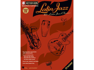 Bladmuziek Jazz Play Along: Volume 23 - Latin Jazz voor Bb, Eb of C instrumenten Inst (Boek + CD)