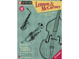 Bladmuziek Jazz Play Along Volume 29 Lennon And Mccartney voor Bb instrumenten (Boek + CD)