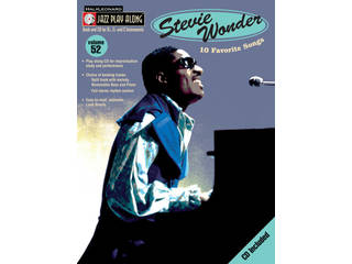 Bladmuziek Jazz Play Along Volume 52 Stevie Wonder voor Bb, Eb of C instrumenten (Boek + CD)