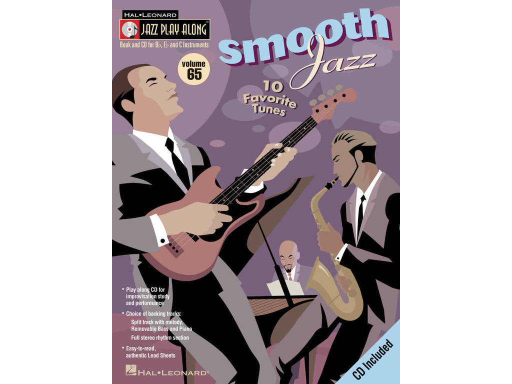 Sheet Music Jazz Play Along Volume 65 Smooth Jazz For Bb, Eb or C Instruments (Boek + CD)