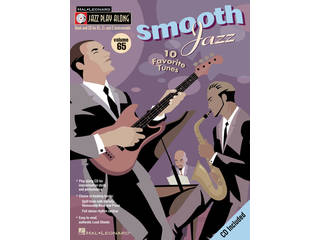 Bladmuziek Jazz Play Along Volume 65 Smooth Jazz voor Bb, Eb of C instrumenten (Boek + CD)
