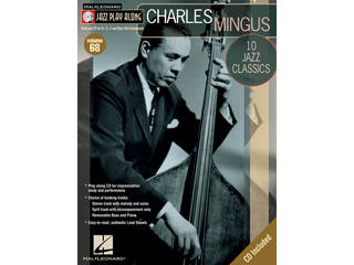 Bladmuziek Jazz Play Along Volume 68 Charles Mingus voor Bb instrumenten (Boek + CD)