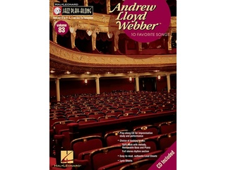 Bladmuziek Jazz Play Along Volume 83 Andrew Lloyd Webber voor Bb, Eb of C instrumenten (Boek + CD)