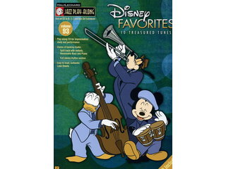 Bladmuziek Jazz Play-along Volume 93 Disney Favourites voor Bb, Eb of C instrumenten (Boek + CD)
