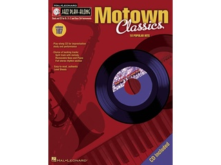 Bladmuziek Jazz Play Along Volume 107 Motown Classics voor Bb, Eb of C instrumenten (Boek + CD)