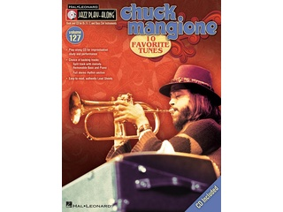 Bladmuziek Jazz Play Along Volume 127 Mangione Chuck voor Bb, Eb of C instrumenten (Boek + CD)