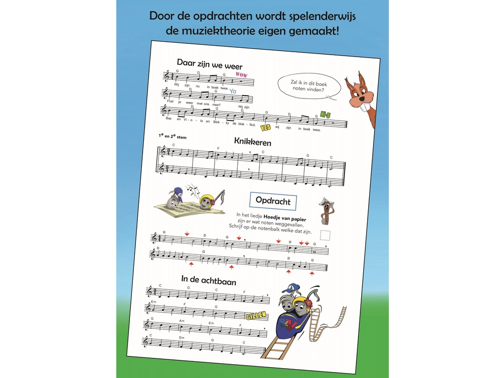 Sheet Music Recorder spelen with Tuba & Viola deel 2 + mp3