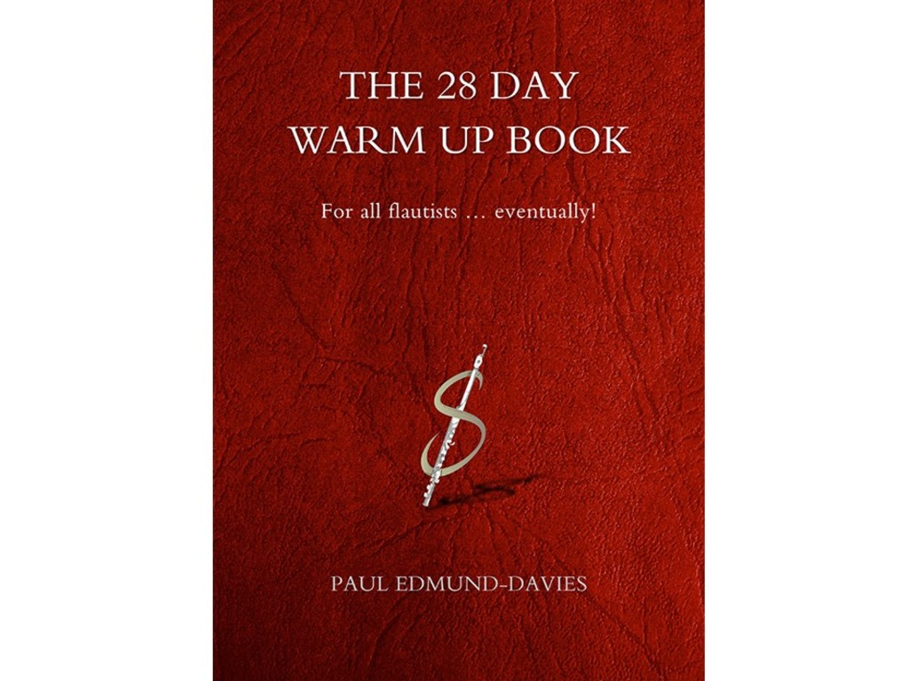 Bladmuziek Dwarsfluit, The 28 Day Warm Up Book, Paul Edmund-davies