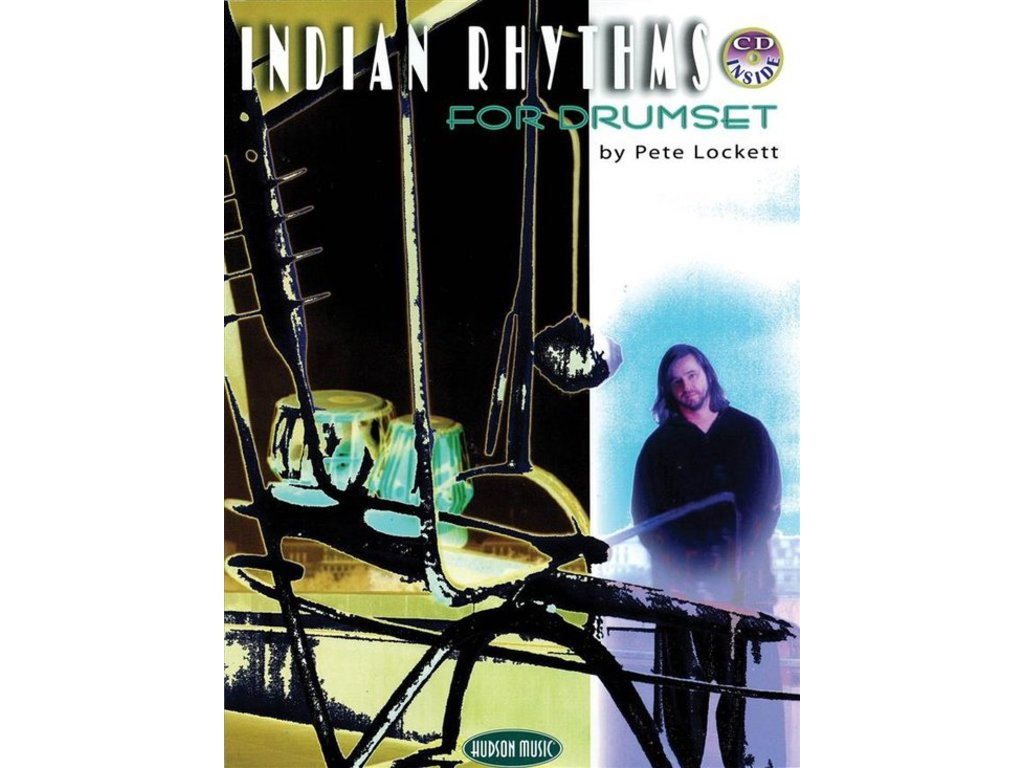 Bladmuziek Lockett Indian Rhythms Drums book /cd