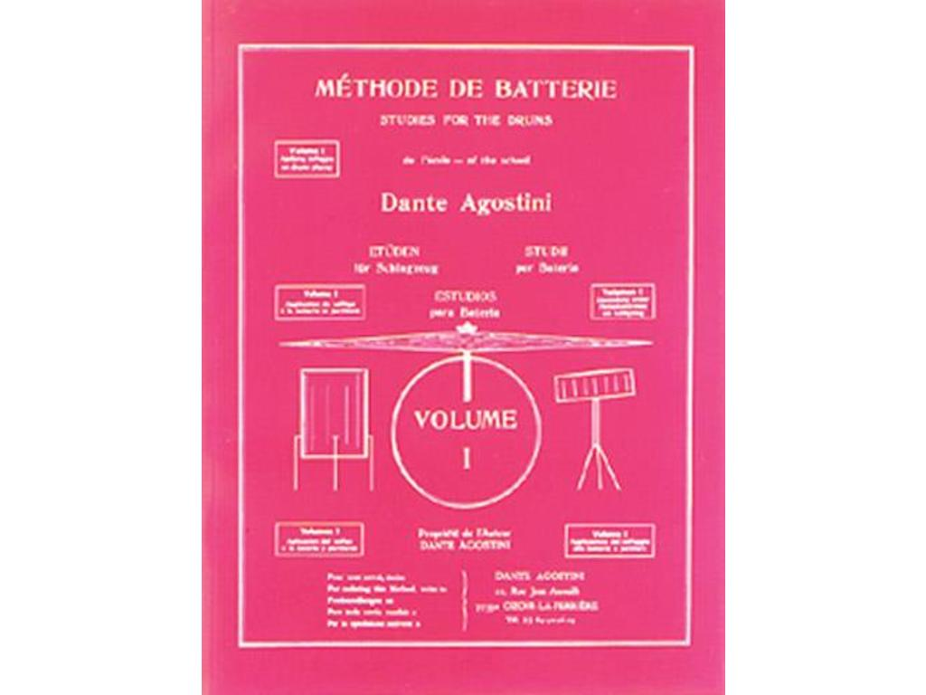 Sheet Music, Drums, Agostini, Method Batterie 1