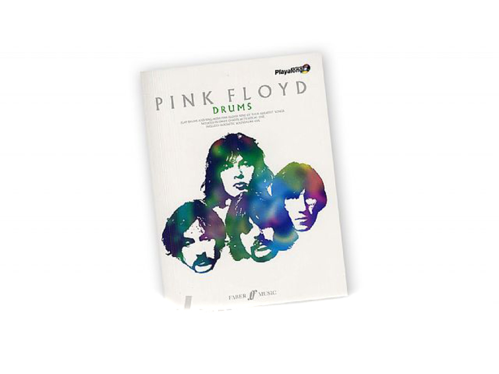 Bladmuziek Drums, Drum Along, Authentic Playalong Pink Floyd (Boek + Cd)