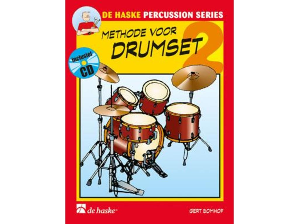 Sheet Music Drums, De Haske, Methode for Drumset, Gert Bomhof, deel 2