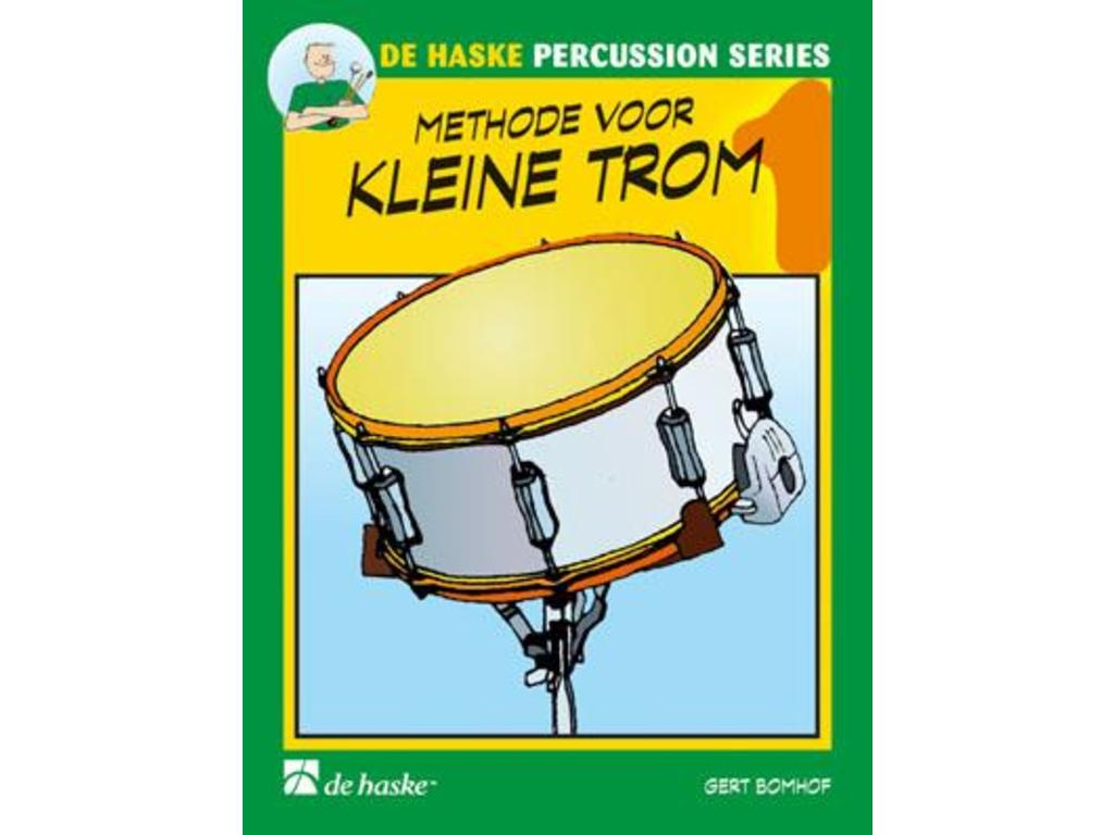 Sheet Music Drums, De Haske, Methode for Kleine Trom, Gert Bomhof, deel 1