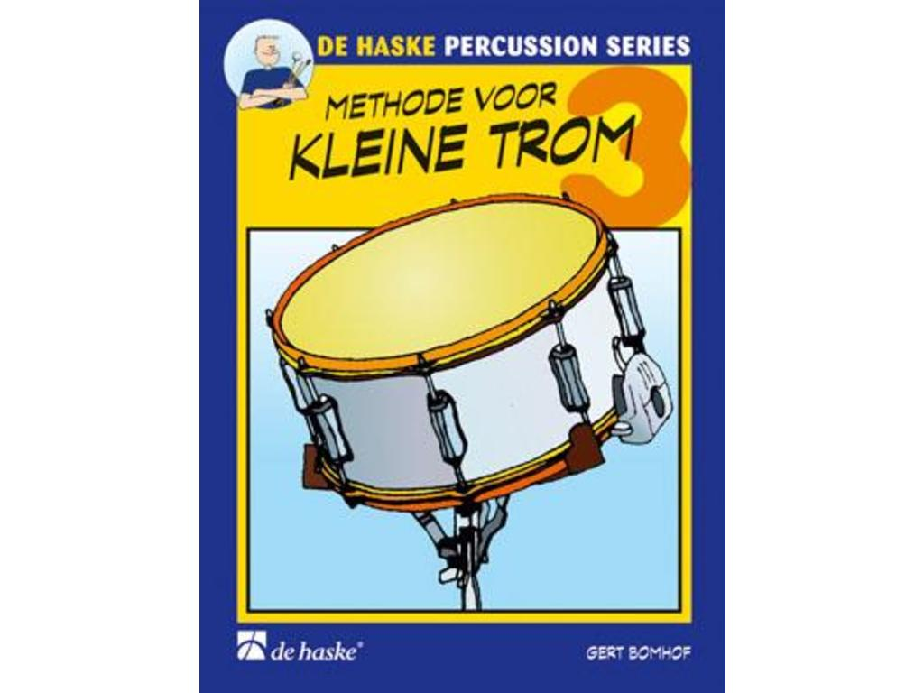 Sheet Music Drums, De Haske, Methode for Kleine Trom, Gert Bomhof, deel 3