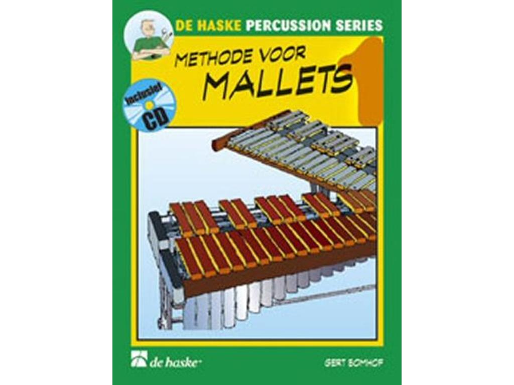 Sheet Music Drums, De Haske, Methode for Mallets, Gert Bomhof, deel 1