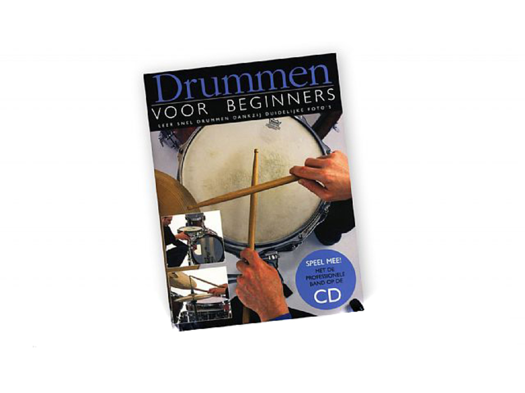Partition Batteries, Drummen pour beginners (Boek + cd)
