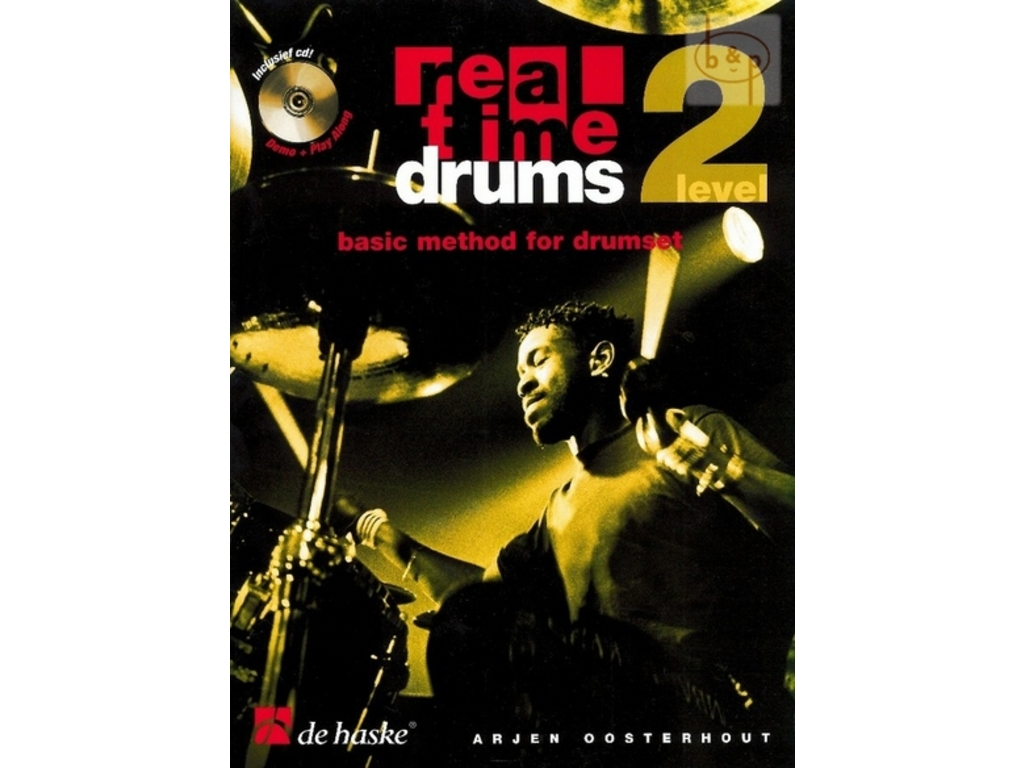 Boek Drums Real Time Drum level 2