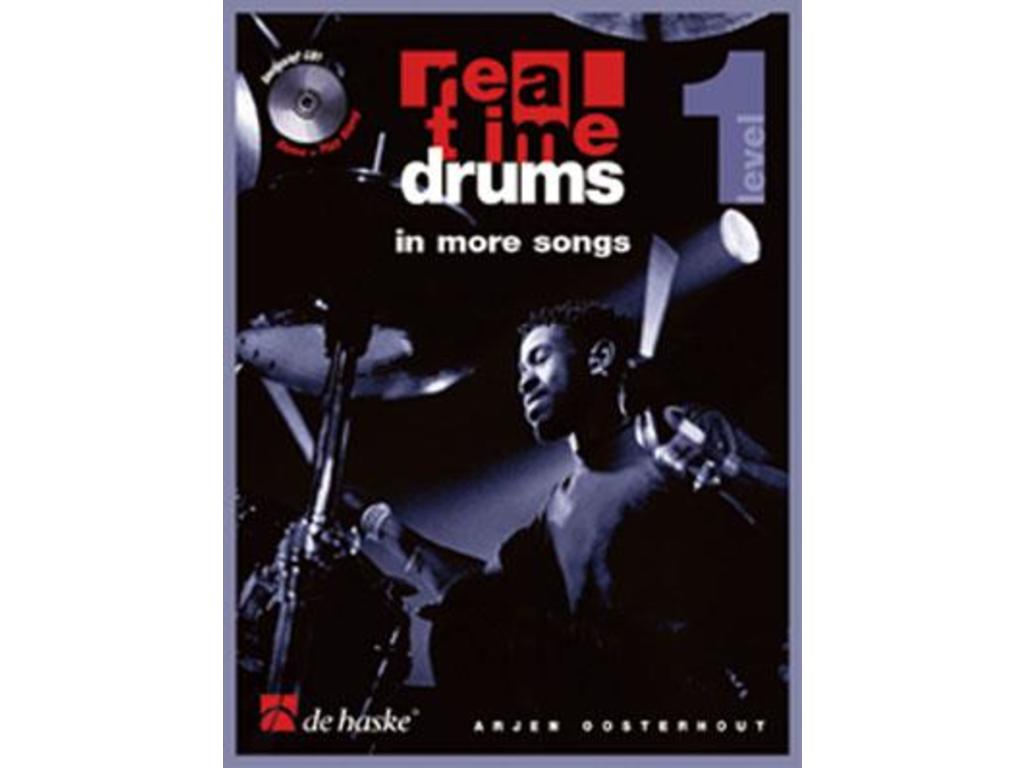 Boek Drums real time drum in More Songs
