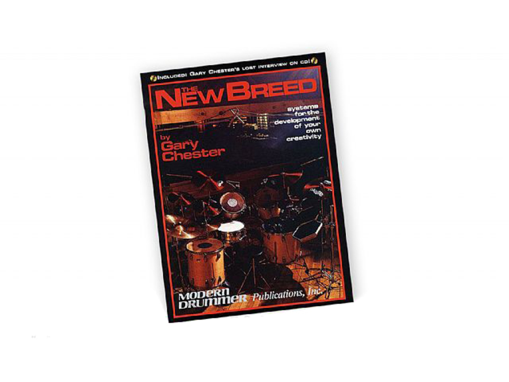 Bladmuziek Drums, Gary Chester, the new breed, revised editon (Boek + cd)